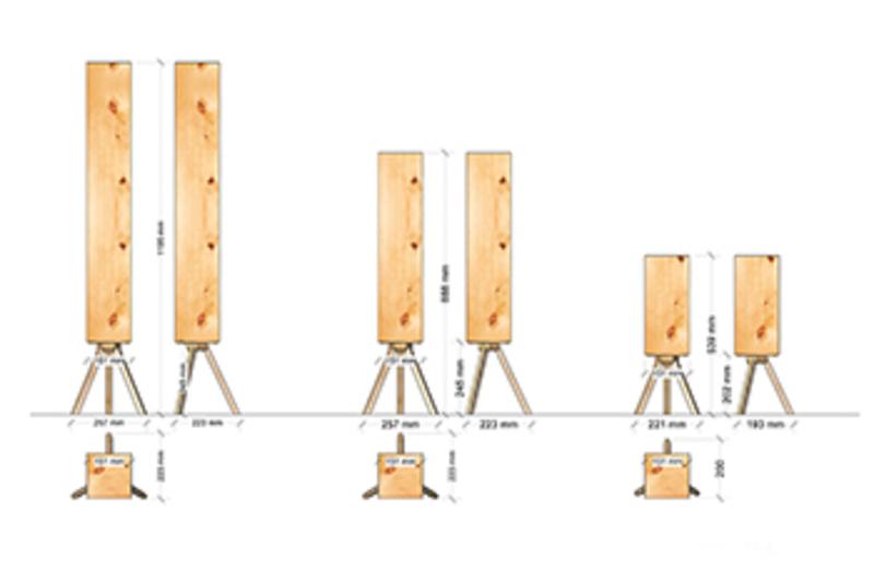 zirben wohnzimmer:Zirben Lampe cube 2 – Natürlich wohnen mit Holz, Dekoartikel und